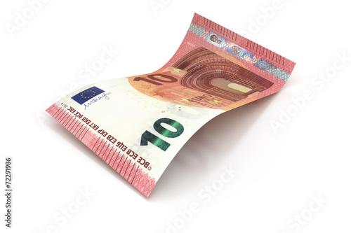 Leinwanddruck Bild 10 Euro