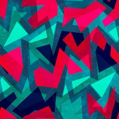 grunge geometric seamless texture