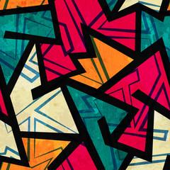 urban geometric seamless pattern
