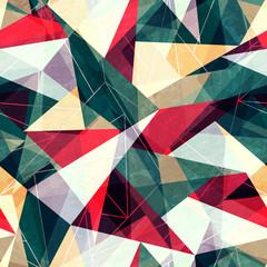 retro triangle seamless texture