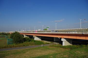 笹目橋と荒川