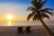 Chairs on Maldives beach