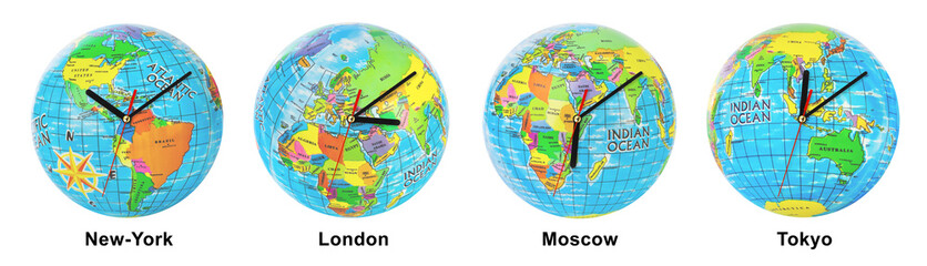 Clocks timezone