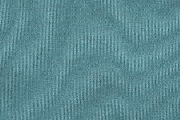 woven texture herringbone of turquoise color