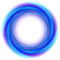 blue circle mandala