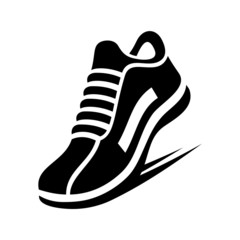 Running Shoe Icon.