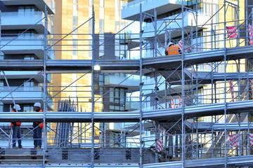 cantiere di costruzione edile - Milano