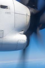 moteur d'avion à hélice