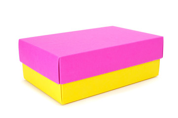box of different colors
