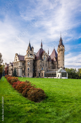 Castle in Moszna, Poland - 72300159