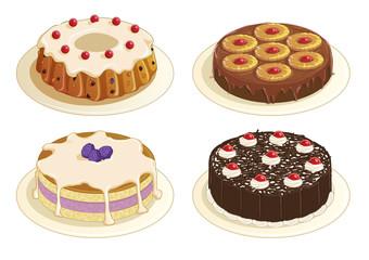 Cakes Series Set 1