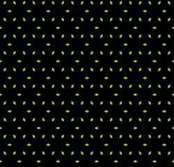 Seamless vector pattern with black background