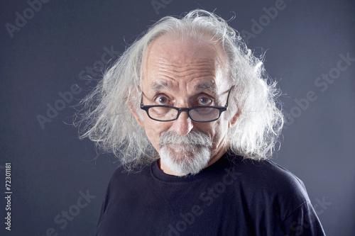 Poster Portrait of a senior man
