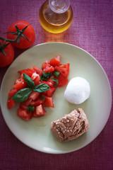 Pomodoro e mozzarella