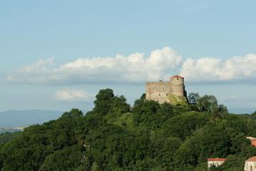Château dans le massif central,France