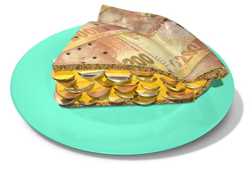 Slice Of Rand Money Pie