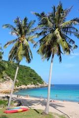 Koh Tao beach in Thailand