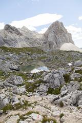 Green Lake in Julian Alps