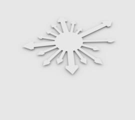 矢印の背景素材