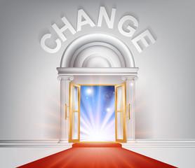 Change red Carpet Door