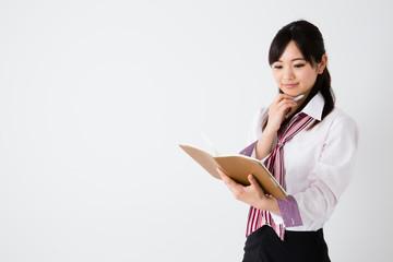 asian businesswoman working