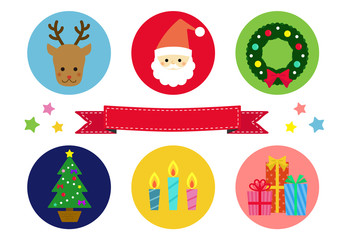 クリスマスカード /  vector eps10