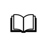 Book Icon.  Logo
