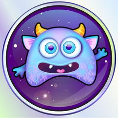 alien monster in space