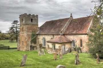 Loxley Parish Church, Warwickshire place of worship since 760AD
