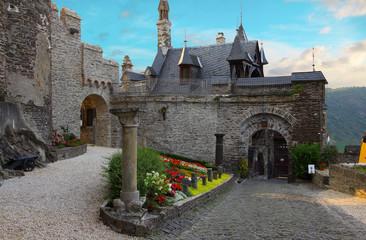 Burghof der Reichsburg Cochem
