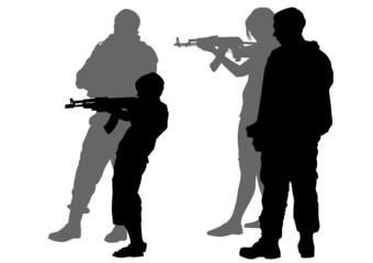 Teen and gun