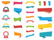 Web Stickers, Tags, Banners and Labels