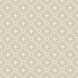Fototapety Beige and White Fleur-De-Lis Pattern Textured Fabric Background