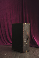 Old Suitcase in Theater