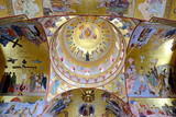 Interior Of Resurrection Cathedral In Podgorica, Montenegro poster