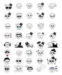 Halloween Skull Emotion