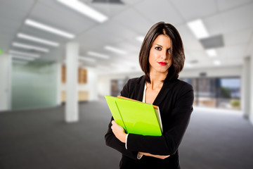 efficient executive woman in her office