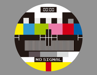 No TV Signal Monoscope