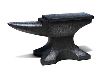anvil 3d illustration
