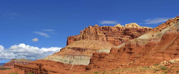The Castle Capitol Reef National Park