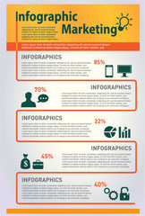 Infographics with Businessmen