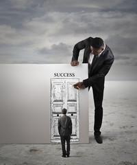 The door to success
