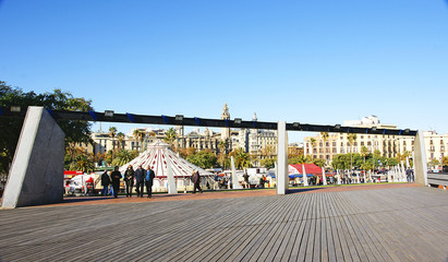 Jardines del moll de La Fusta, Barcelona