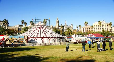 Circo en la ciudad, Barcelona