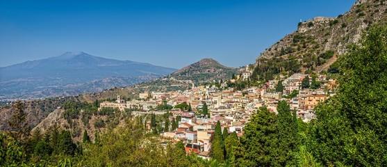 Taormina and Etna, Sicily.