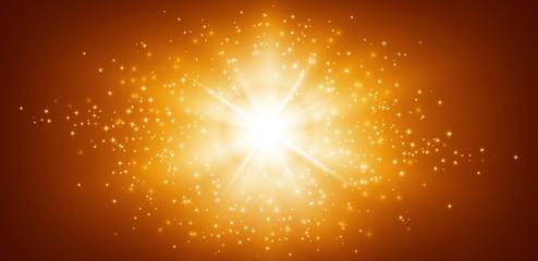 panoramic star light background