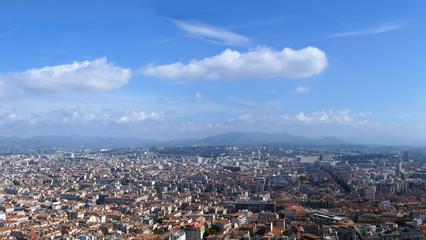 Marseille city panoram