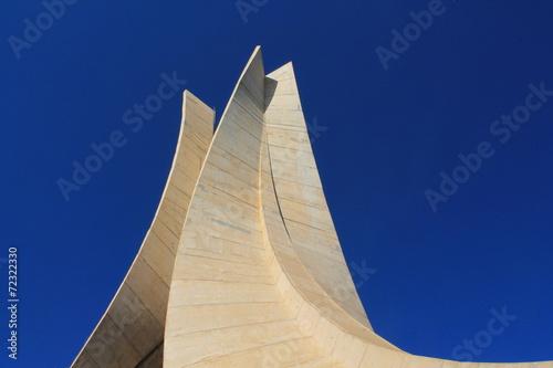 Foto op Plexiglas Algerije Mémorial du Martyr à Alger, Algérie