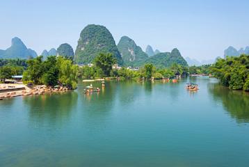 Li-Fluss in China