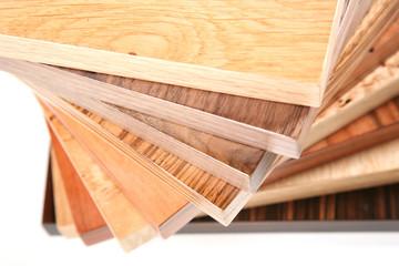 Wood veneer samples